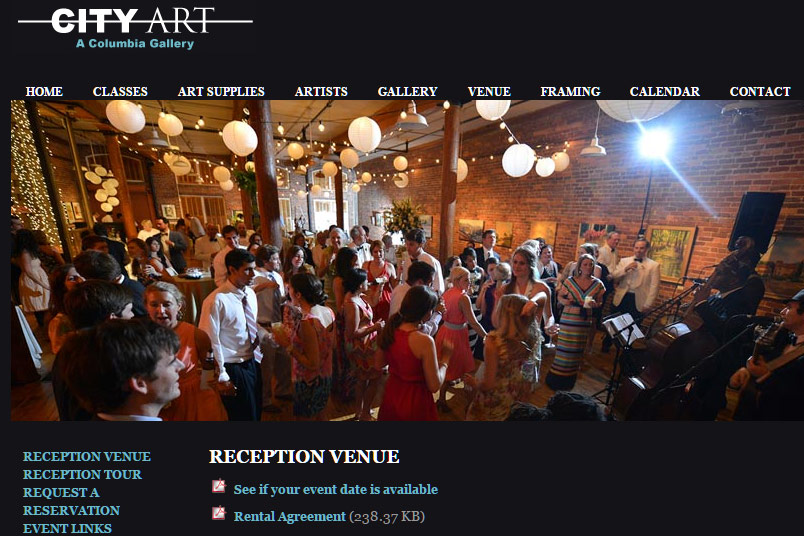Wedding venues in columbia sc gallery wedding dress for Craft stores columbia sc