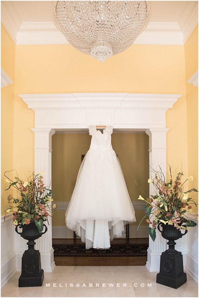 Wedding Gown New York Bride and Groom Charlotte wedding in Columbia, SC wedding photographer wedding details