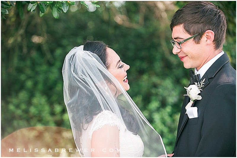 First Look Charleston SC wedding photographer in Charleston SC Island House John's Island
