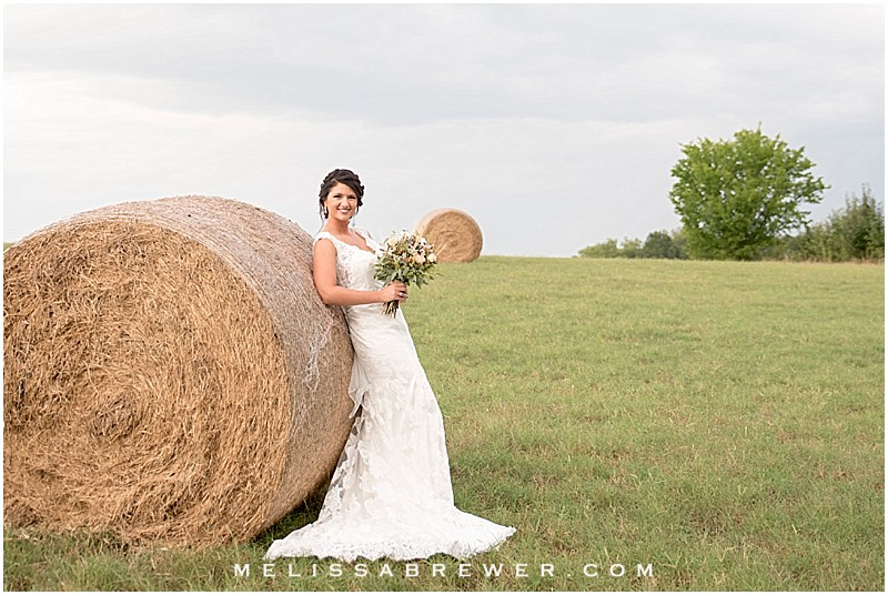 Katherine's Rainy, Rustic Bridal Session