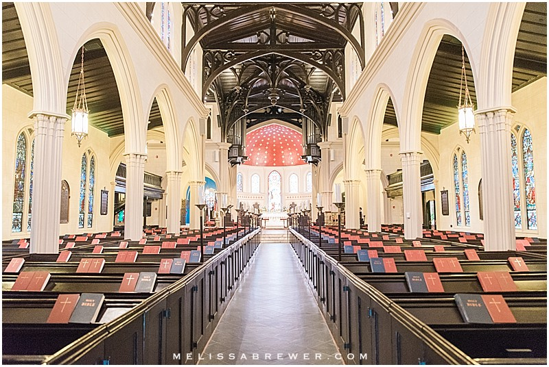 Trinity Cathedral And Capital City Club Wedding In Columbia Sc