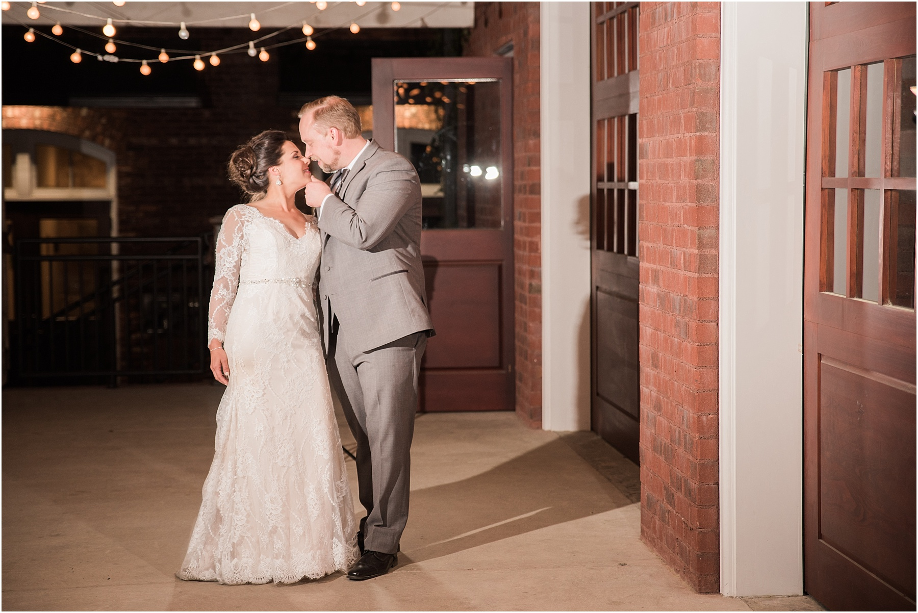 701 Whaley Wedding Photography Columbia SC wedding photographer melissa brewer photography OCF off camera flash bride and groom portrait