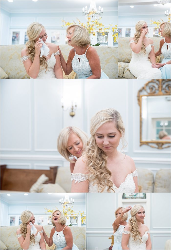 south carolina wedding with southern charm manning, sc charleston sc wedding photographer beautiful church wedding in south carolina bride getting ready mother of bride