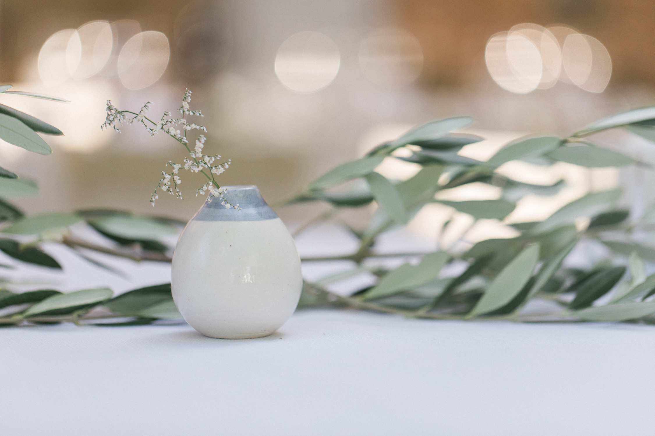 bomboniere ceramic he wedding gift small ceramic pot with lavender and olive branches Tuscany Italy film wedding photography
