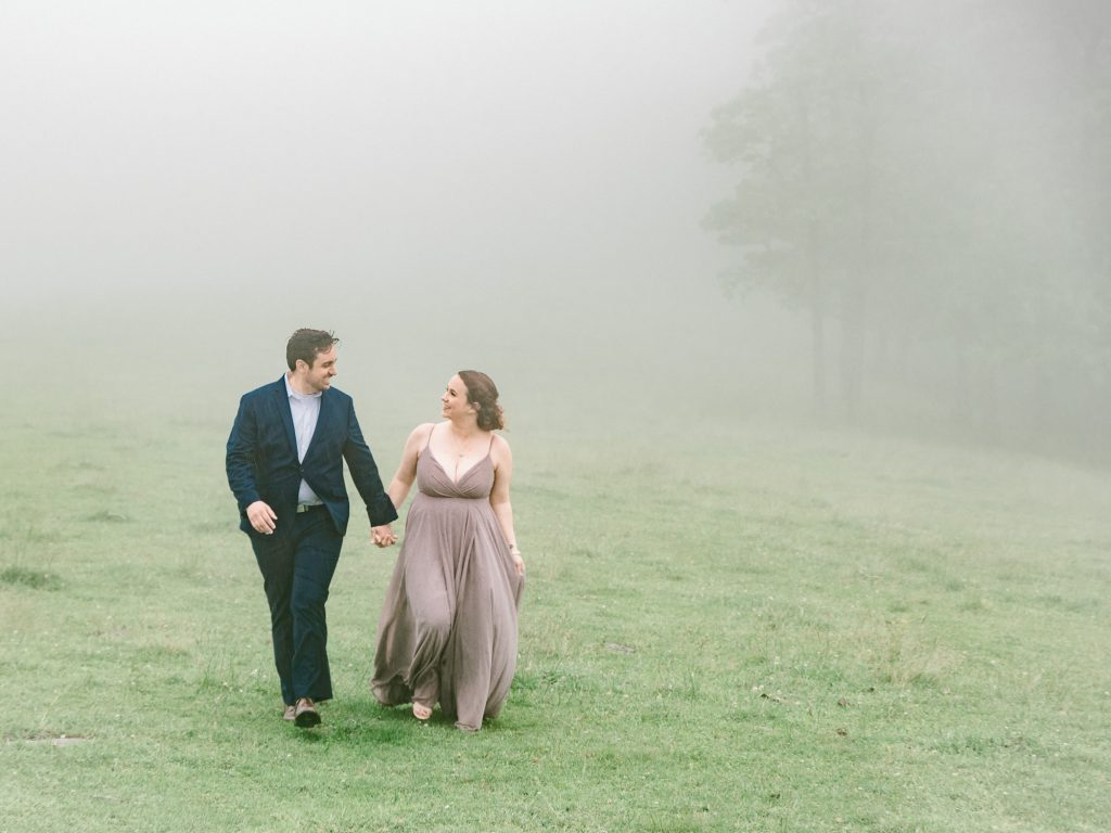Bearwallow Mountain Hendersonville engagement session anniversary session in the mountains Greenville wedding photography Greenville engagement photography mountain engagement