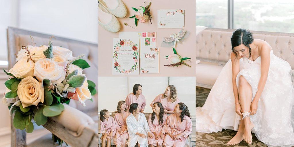 twigs floral bouquet and bride details commerce club wedding greenville sc