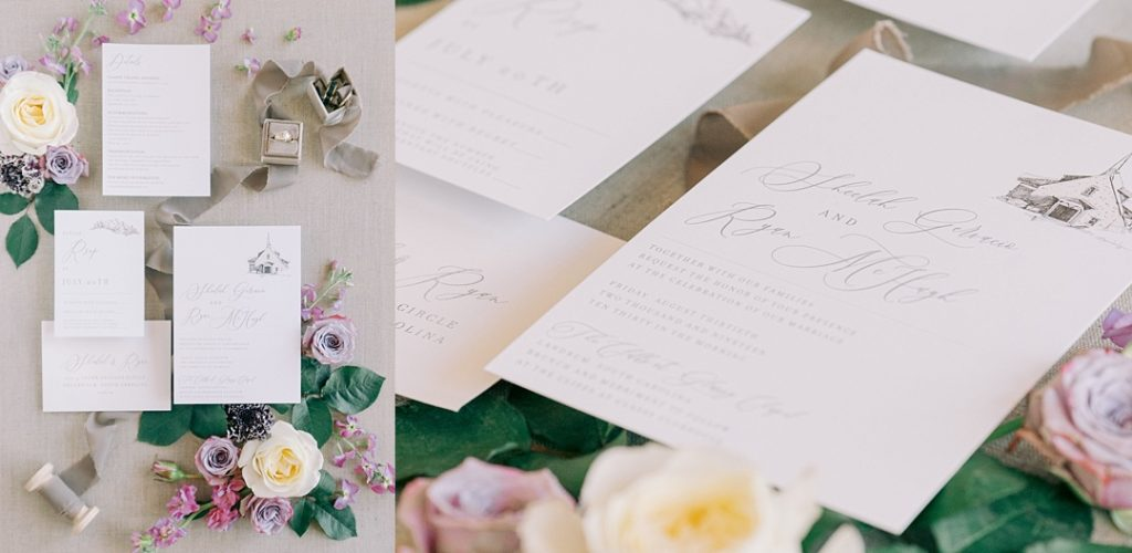 upstate i do wedding details flatlay sofia invitations melissa brewer photography greenville sc weddings