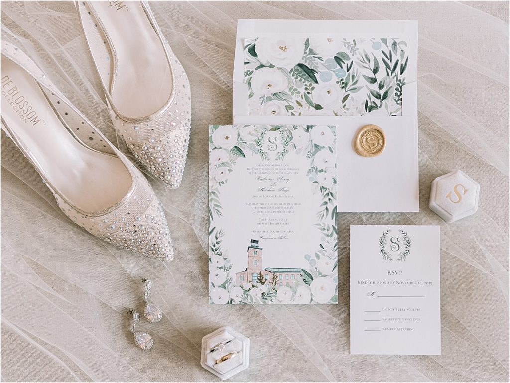greenville sc wedding at huguenot loft huguenot mill katie williams events melissa brewer photography in greenville sc