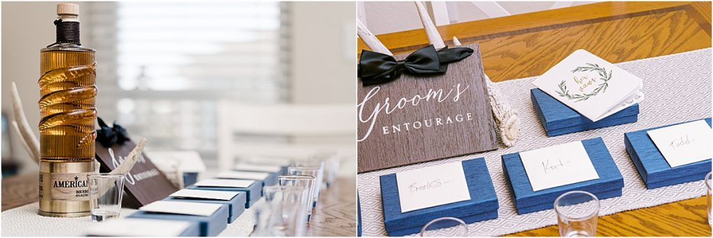 charleston sc wedding groom's details groomsmen gifts