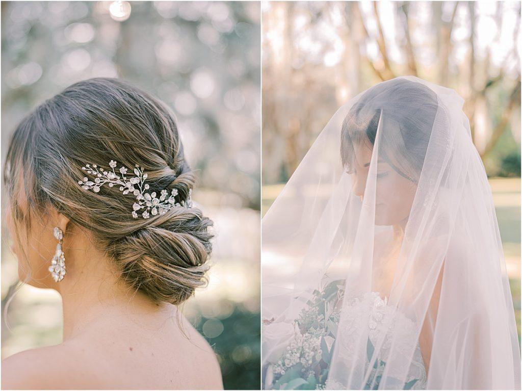 bride and bridesmaids hampton park charleston sc wedding photography spanish moss portraits