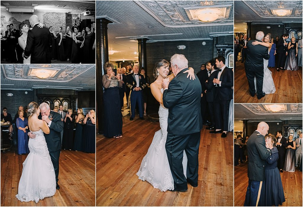 bride's first dance with father