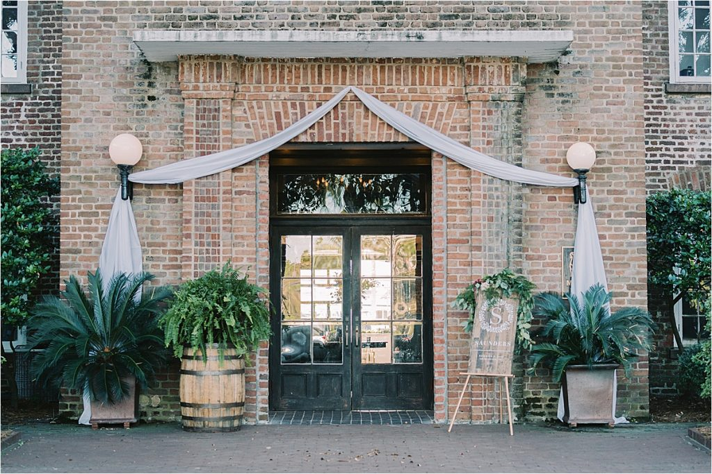 wedding reception at the historic rice mill charleston sc wedding photographer