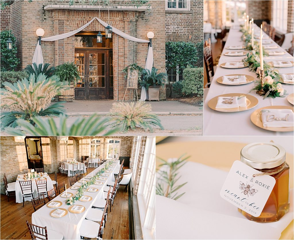 the historic rice mill in charleston sc reception wedding in charleston sc wedding photography