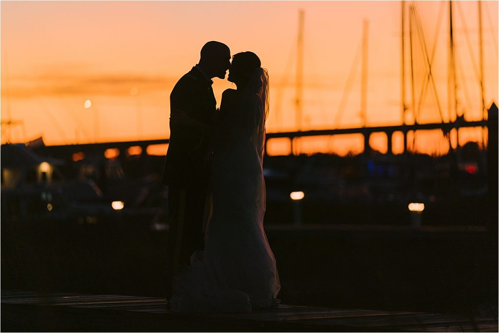 bride and groom portraits at historic rice mill blue hour golden hour portraits charleston sc wedding photography