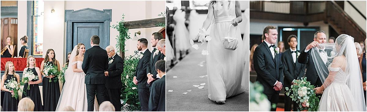 wedding ceremony simpsonville first baptist church greenville sc wedding upstate sc wedding photographer